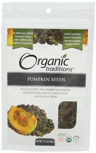 Organic Traditions Austian Pumpkin Seeds, 3.5 Ounce
