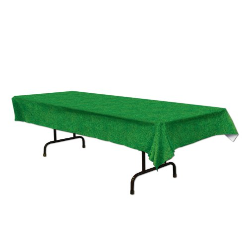 Grass Tablecover Party Accessory (1 count) (1/Pkg)
