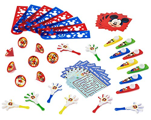 Mickey Mouse Clubhouse Party Favor Pack, Value Pack, Party Supplies