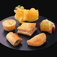 Appetizer, The 100 Deluxe Assortment Pack, 100 Per Cs, Frozen
