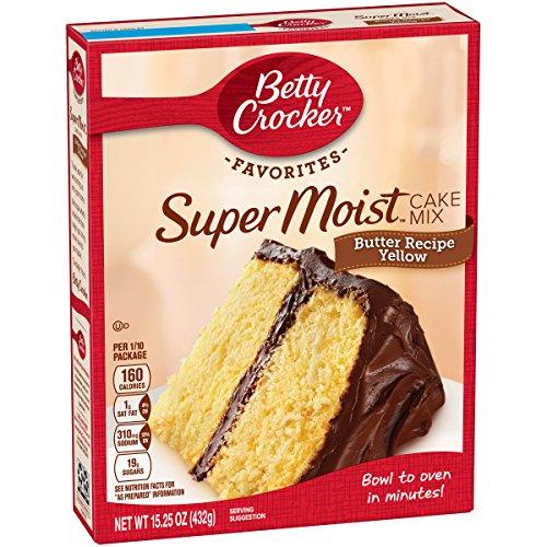Betty Crocker Yellow Cake Mix, 15.25 oz