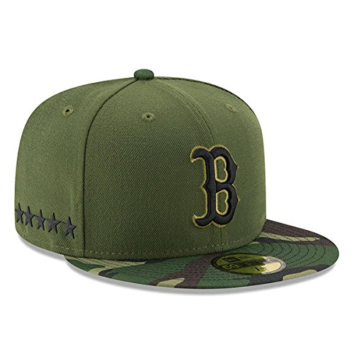 Boston Red Sox New Era 2017 Memorial Day 59FIFTY On Field Fitted Hat (7 1/8)