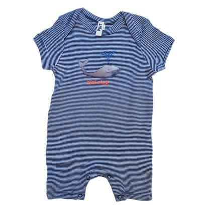 Zomers babypakje met walvis