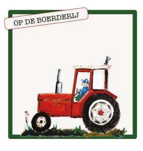 collectie voor kinderen die van tractoren en dieren houden