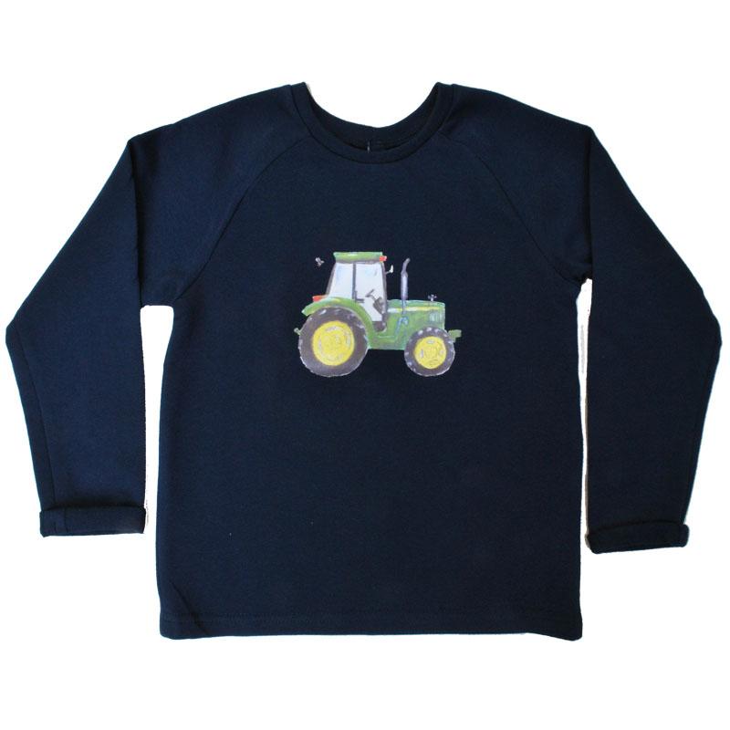 grijze sweater John Deere