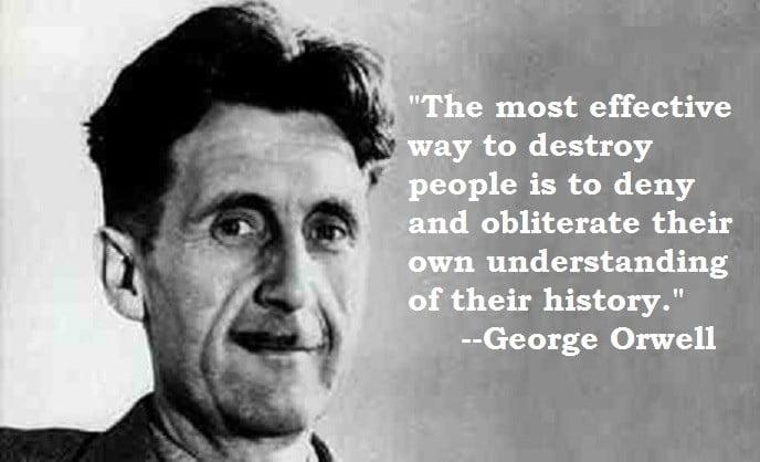 Orwell on History.