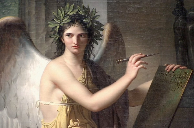 Clio, Muse of History 1798 by Charles Meynier