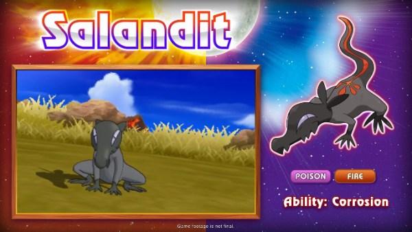 ポケモン サン ムーン、新ポケモン「Salandit」の動画が公開。全てのタイプに毒が有効の強力さ