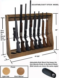 Wood Work Free Standing Gun Rack Plans PDF Plans