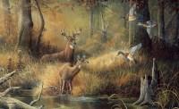 Hunters Dream Wallpaper Mural - Unpasted