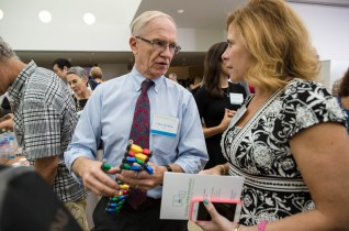 Legos are a great teaching tool for DNA sequences. Photo Credit: MIT News