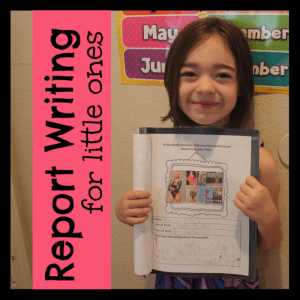 FREE 1st Grade Research Paper Writing Template Use curiosity driven learning to introduce your youngest learners to the fun of report writing with this free printable research paper template perfect for first grade – and even kindergarten!