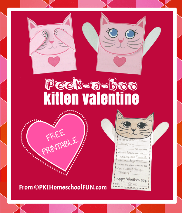 This adorable and free printable valentine is perfect for cat lovers and those who are fond of feline cuteness. Snag this free printable kitten valentine with writing prompts!