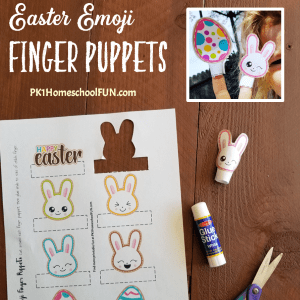 Free Easter Printable Crafts Finger Puppets