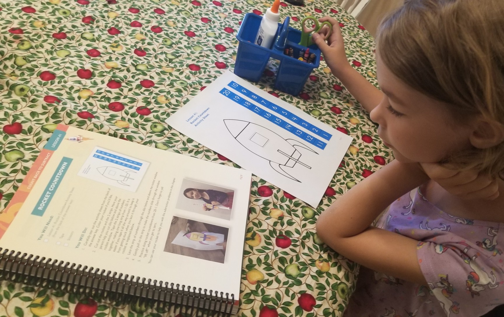 Apologia is a simple homeschool math curriculum your kids will love.