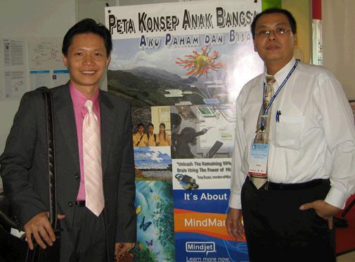 Mejeng bersama Lim Teck Hoe