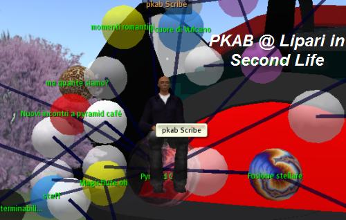 PKAB Scribe at Lipari in Second Life