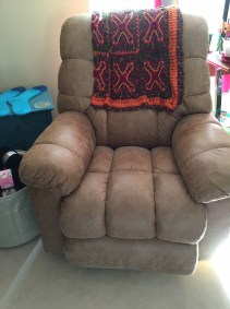 Comfy Knitting Chair