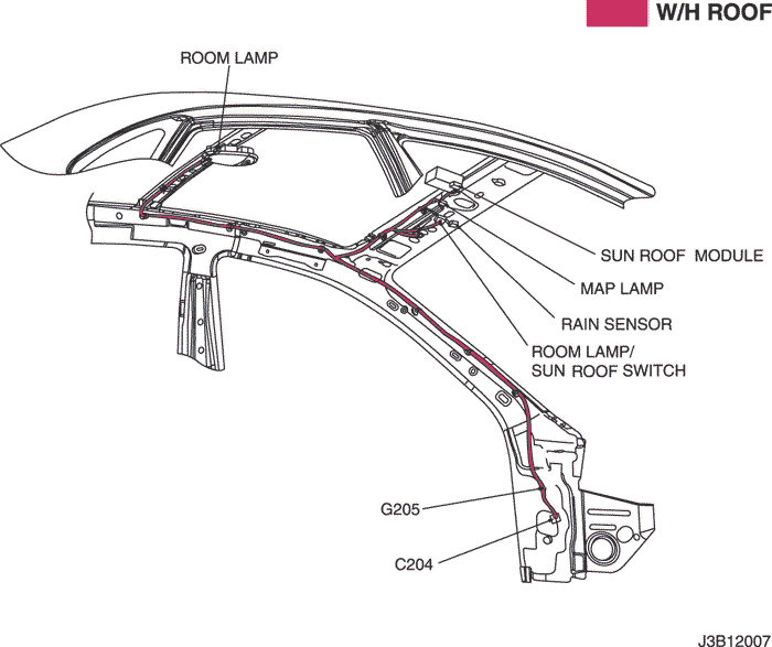 Electrical Wiring Diagram 2005 Nubira-Lacetti 29. SUN ROOF