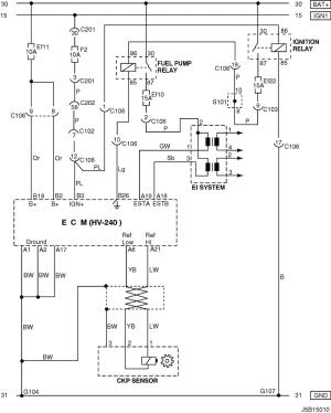 Electrical Wiring Diagram 2005 NubiraLacetti 3 ECM