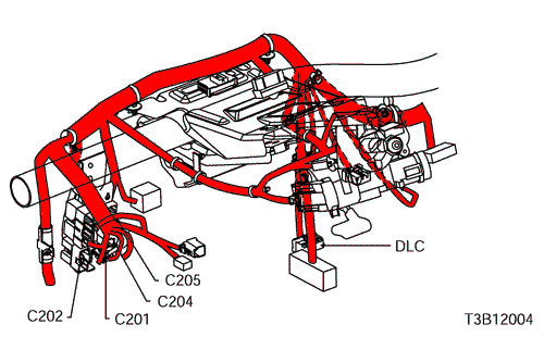 Daewoo Korando Engine Room Wiring Harness Connector