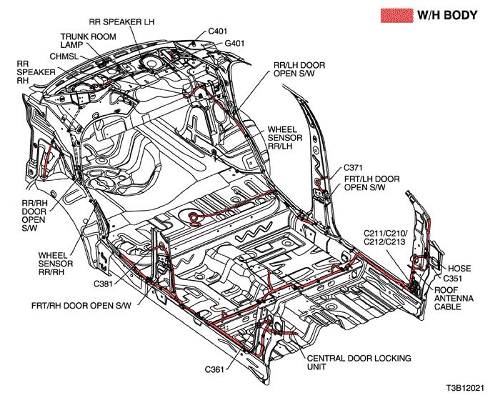 Electrical Wiring Diagram 2005 Kalos 25. AIR BAG (SDM
