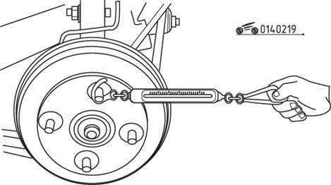 Mazda 626 / MX-6 Регулировка и замена подшипников задних колес