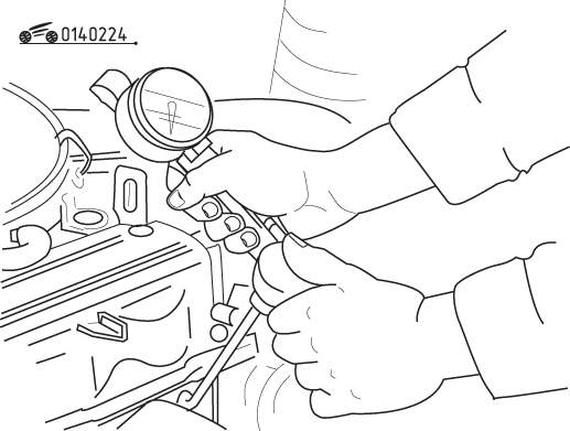Mazda 626 / MX-6 Проверка компрессии в цилиндрах двигателя