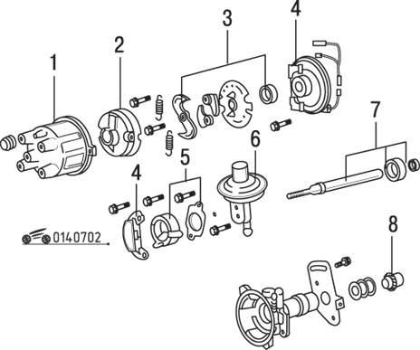 Mazda 626 / MX-6 Распределитель зажигания