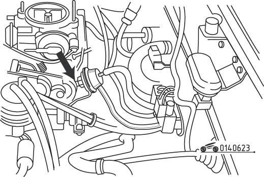 Mazda 626 / MX-6 Компенсатор частоты вращения коленчатого