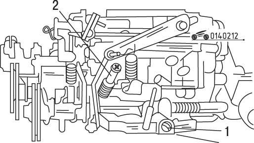 Mazda 626 / MX-6 Проверка и регулировка частоты вращения