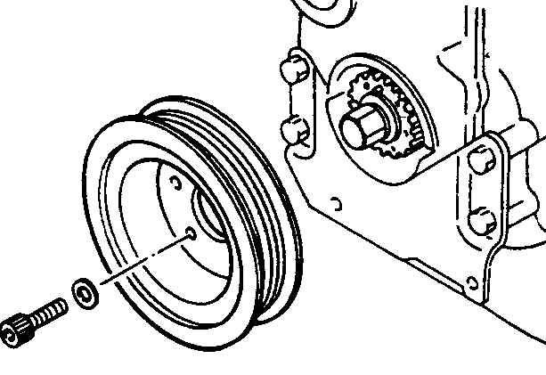 Mazda 626 Передний зубчатый ремень