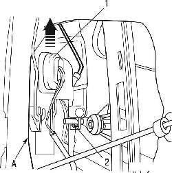 Peugeot 206 Снятие и установка механизма открывания