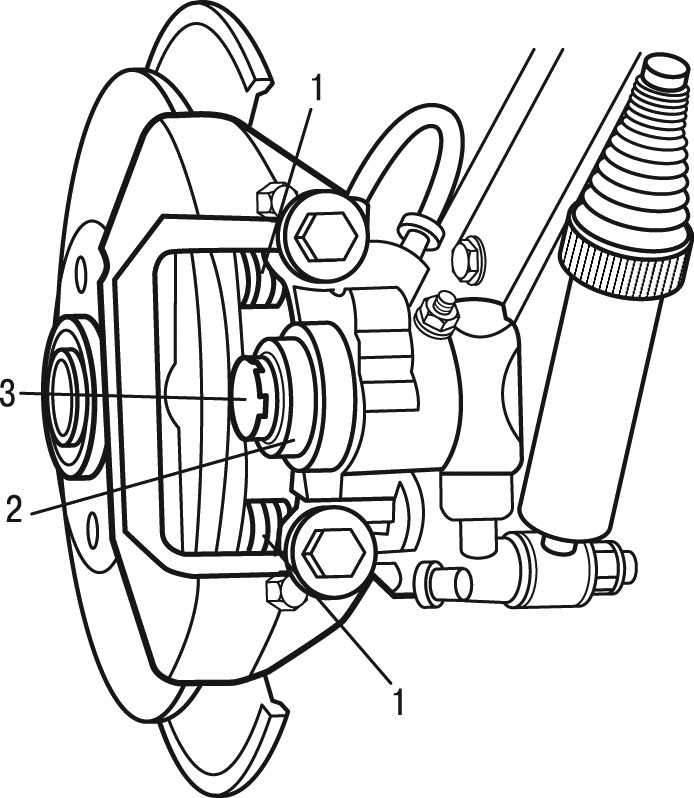 Peugeot 206 Снятие и установка тормозных колодок задних