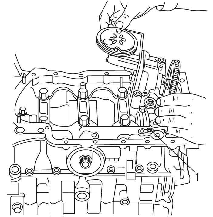 Peugeot 206 Сборка двигателя