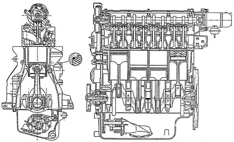 Peugeot 405 Двигатели