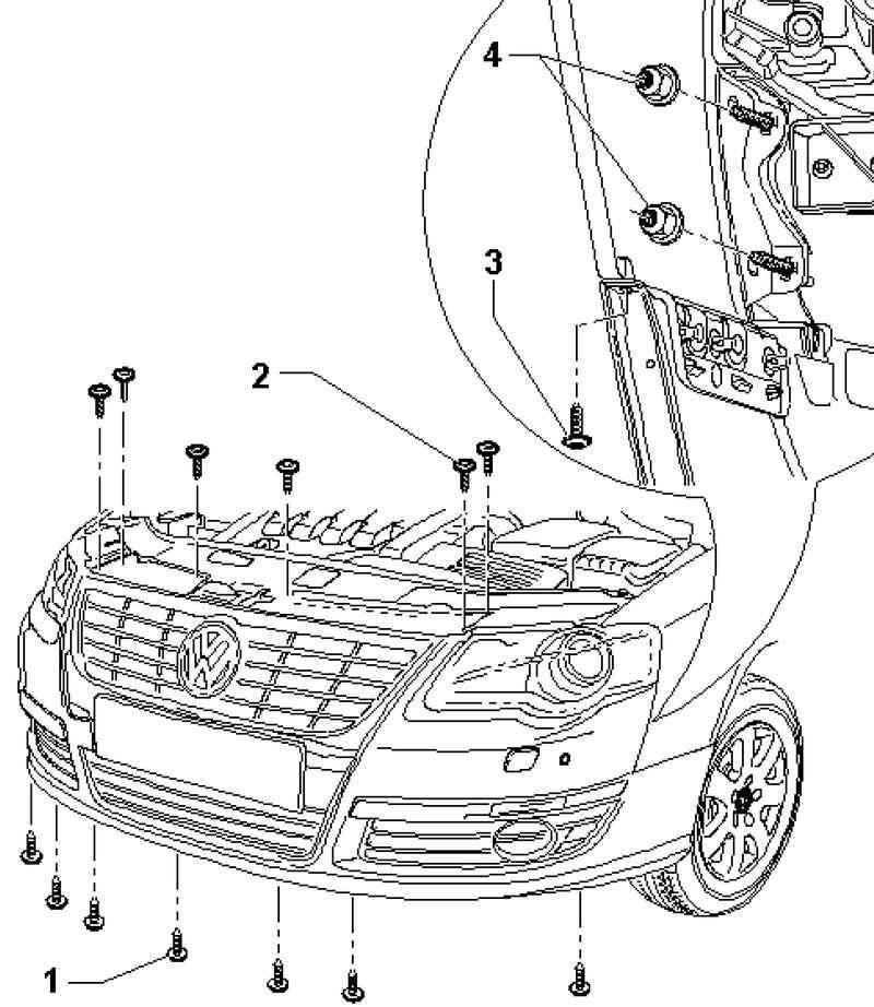 Volkswagen Passat B6 Снятие и установка облицовки