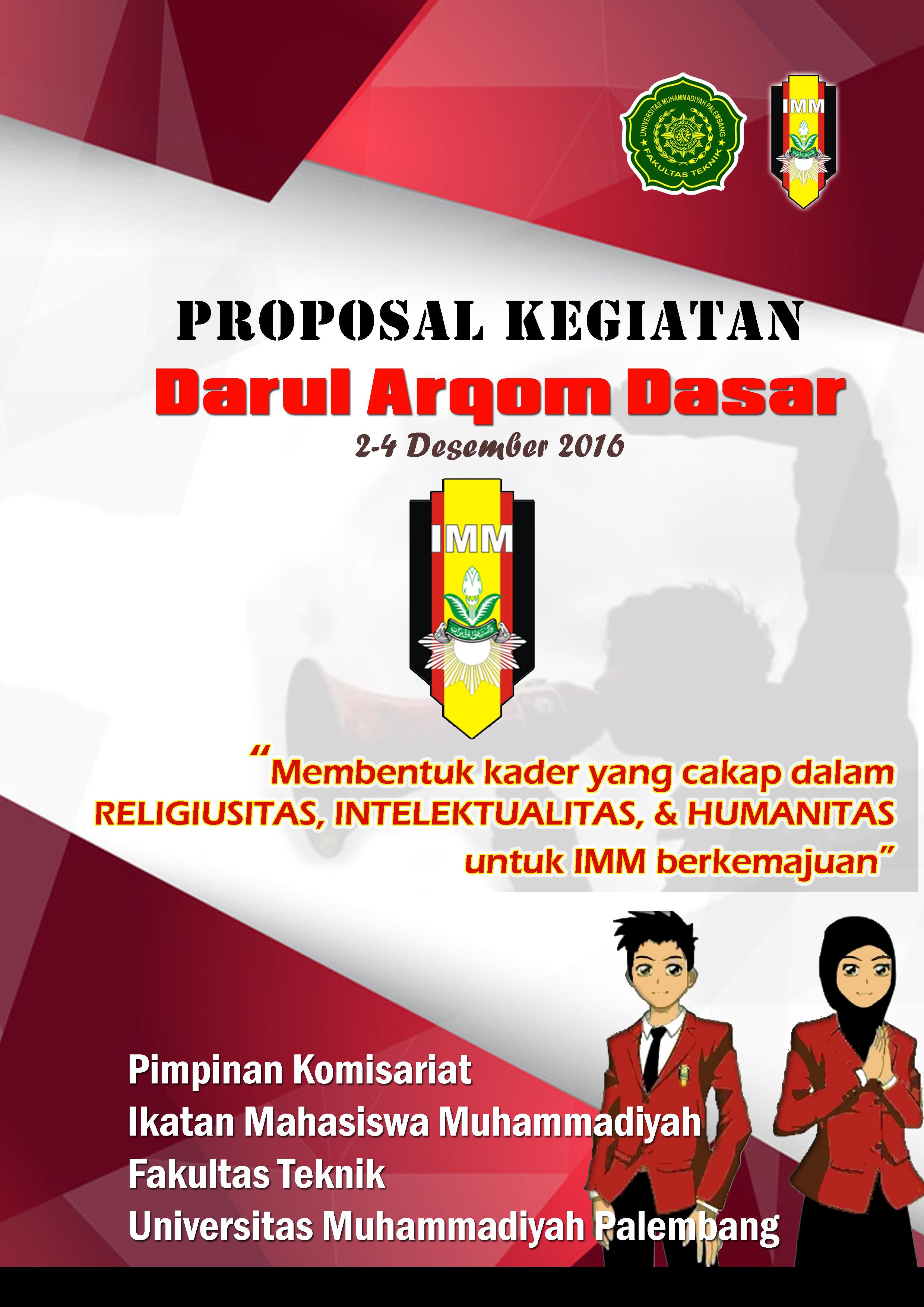 Contoh Cover Proposal  PK IMM FT UM Palembang
