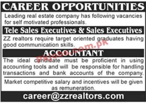 Jobs In Real Estate Company