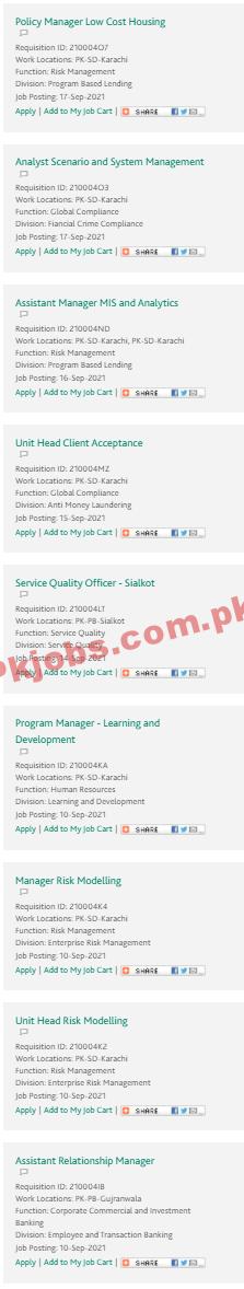 Hbl Pk Jobs 2021 | Habib Bank Limited Announced Latest