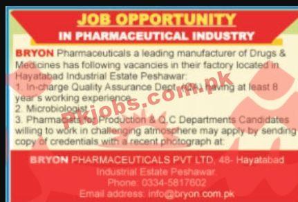 Jobs In Pharmaceutical Industry