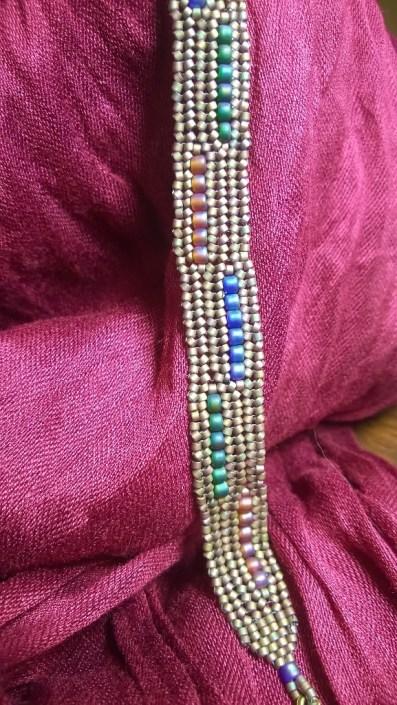 Flat Herringbone Bracelet
