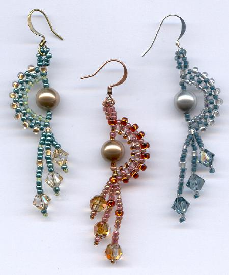 Pearls on the Half Shell Earrings