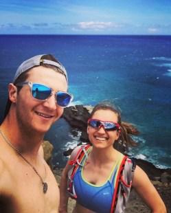 Running adventures in Hawaii