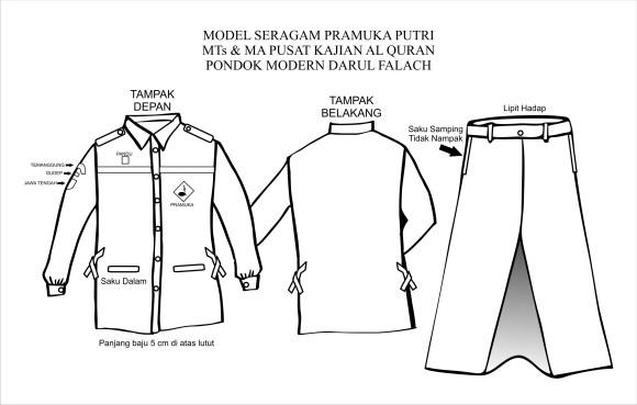 Model Seragam Pramuka
