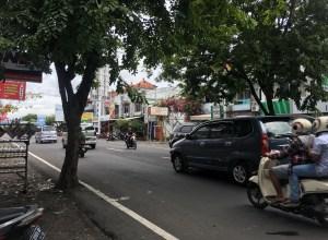 バリ島の道路
