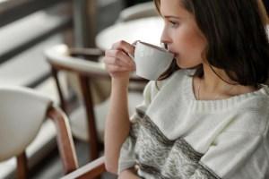 コーヒーブレイクと美女