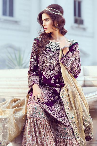 Sana Yasir Magnificent Bridal Dresses Collection Falaknuma  PK Vogue