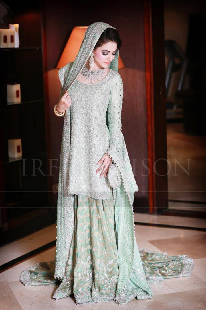 15 Elegant Pakistani Walima Dresses 2017 For Bridals PK