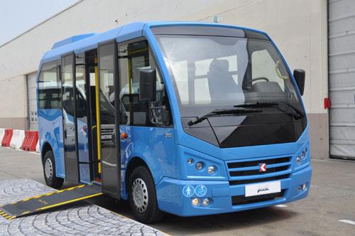 Markteinführung des ersten 6-m-Niederflurbusses